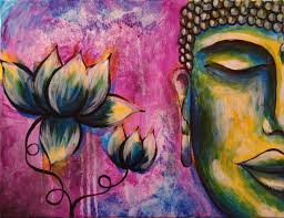 Painting Canvas How To Paint Buddha Step By Step Acrylic Painting On Canvas For