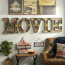 home theater wall art help someone on your list light up their walls with the retro home theater wall art