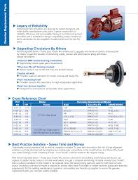 Armstrong Pump Cross Reference Chart 13470 1 Armstrong Gold Series Pump Less Volute Brochure
