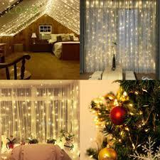 Dây đèn LED trang trí trong/ ngoài nhà với 8 chế độ đặc sắc
