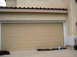 metal garage doorsTips Cream Metal Garage Door Insulation Lowes For Better Garage Idea