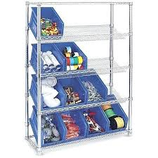 uline shelving units stationary slanted wire shelving unit uline metal shelving units