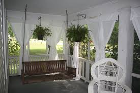 screen porch outdoor curtains