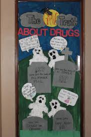 As I mentioned before, each year during Red Ribbon Week, my school holds a  contest for door decorations. The level of competition between t.