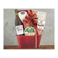 rock falls vineyards chardonnay wine basket