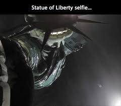 Statue Quotes Inspiration Statue Of Liberty Selfy Dump A Day