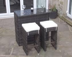 seater bar set in brown rattan outdoor garden furniture brand tool indoor sets glass bar