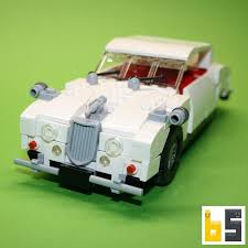 Lượt xem 91028 ngày trước. Jaguar Mk Ii White Kit From Lego Bricks The Brickworms