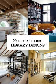 contemporary library furniture. Modern Home Library 10 Very Attractive Design 27 Designs That Stand Out DigsDigs Contemporary Furniture