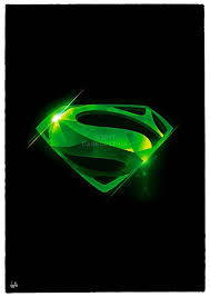 The character was created by writer jerry siegel and artist joe shuster, and first appeared in action comics #1, a comic book published on april 18, 1938. Kryptonite Superman Signed Wall Art Poster Fine Art Print Etsy