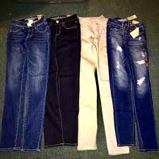Womens Jeans Size Chart American Eagle American Eagle Lot Of 4 Brand New With Tags Jegging Jeans