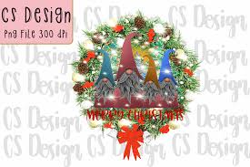 Sublimation Gnomes Family Christmas Graphic By Csdesign Creative Fabrica
