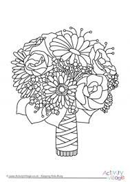 Small Picture Wedding Colouring Pages