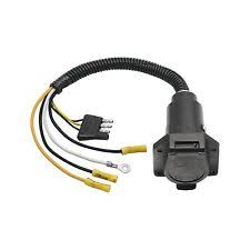 5 to 4 wire trailer adapter tow smart 4 way flat to 7 way adapter trailer wiring harness shipping