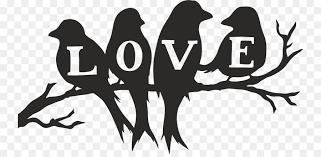 lovebird clipart silhouette. Exellent Lovebird Silhouette Stencil Image Love Bird  On Lovebird Clipart R
