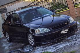 honda civic 2000 si. Simple Civic 2000 Honda Civic Si On New Wheels  With 0
