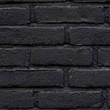 black painted brick wall pbr texture