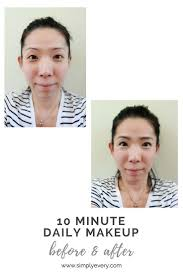 putting my face on every day 10 minute daily makeup routine