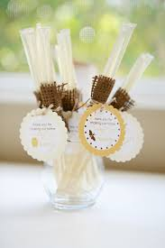 Sweet as Honey Housewarming Party: Honey Stick favors