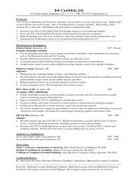 Marketing Assistant Resume Resume For Your Job Application
