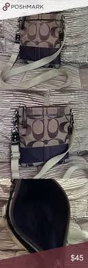... Bags Coach Swingpack Signature Crossbody Coach Legacy Flight Medium Navy  ...