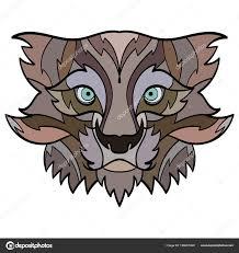 Bobcat тату рысь векторное изображение Shesaysboo 196661400