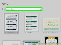Certificates To Make 3 Ways To Make Your Own Printable Certificate Wikihow