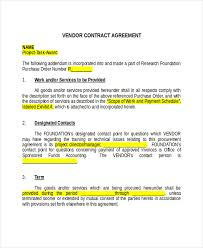Sample Agreement Format