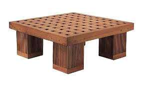 square outdoor coffee table teak wood large