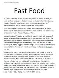 essay food how to write essay about my favorite food