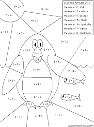 Coloring Pages Math Games 4 Kids 5 Math Color Me Sheets Math