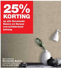25 Korting Op Alle Decomode Basics En Sencys Overschilderbaar
