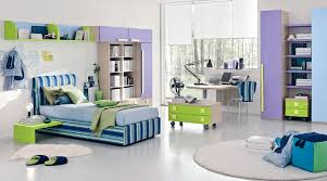 modern bedroom furniture for teenagers.  For Stupendous Modern Teenage Girl Bedroom With Striped Bed And Portable  Cabinets Also Blue Furnishings Furniture For Teenagers L