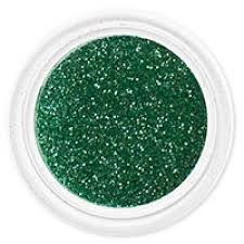 Brokát Tmavě Zelený Na Zdobení Nehtů B18