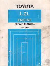 Toyota L 2L engine workshop manual USED - sagin workshop car manuals ...