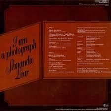I Am A Photograph Lp Cover Art