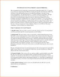 Example Of A Research Proposal In Apa Format Under