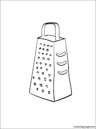 Small Picture Coloring page grater Coloring pages