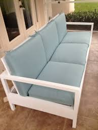 diy sofas and couches simple white patio sofa easy and creative furniture and home