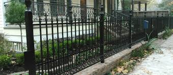 Wrought Iron Fencing Fence Geeks Wrought Iron Fences Gates and