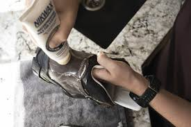 when your boots are really past it then it s time to bring out the nikwax conditioner for leather this res suppleness and softness to dried out