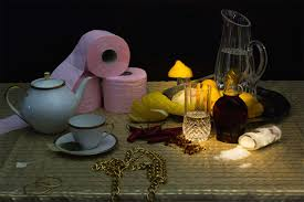 Famous Still Life Photographers Celebrity Fad Diets Recreated As Classical Still Lifes