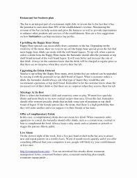 Restaurant Business Plan Business Plan Sample For Restaurant Business Plan Condant 5