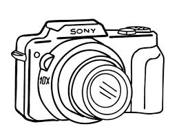 Small Picture Picture of Camera in Photography Coloring Page Coloring Sky