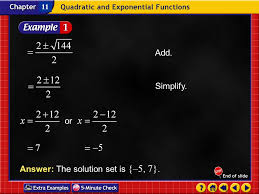 4 example 4 1c add simplify or answer the solution set is 5 7 11