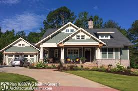 Architectural Designs Com Plan 16887wg 3 Bedroom House Plan With Swing Porch