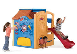 step2 playhouse with slide