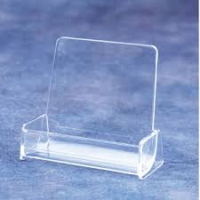 Business Card Display Stands Fascinating Business Card Holder Acrylic Desk Top Literature Display With 32