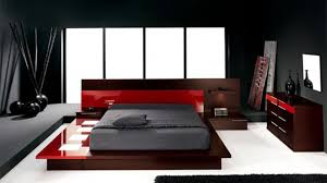 gray and red bedroom. red and brown wooden bed with grey sheet connected by also source bedroom photo ideas gray