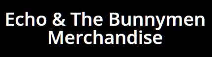 echo logo. echo and the bunnymen official merchandise logo